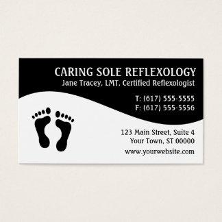 Cartes de visite de Reflexologist de