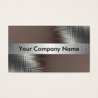 Cartes de visite de regard en métal avec la classe