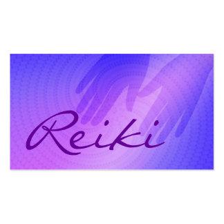 Cartes de visite de Reiki Cartes De Visite Personnelles