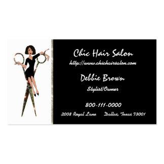 Cartes de visite de salon (Afro-américain) Carte De Visite Standard