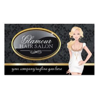 Cartes de visite de salon de coiffure carte de visite standard