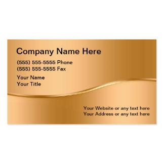 Cartes de visite de soudure carte de visite standard