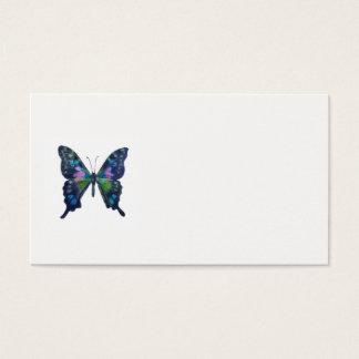 Cartes de visite de taille standard de papillon