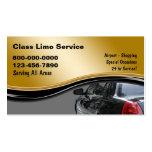 Cartes de visite de taxi cartes de visite professionnelles