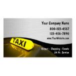 Cartes de visite de taxi nouveaux cartes de visite professionnelles