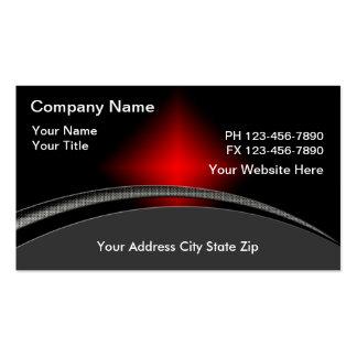 Cartes de visite de technologie d'ordinateur carte de visite standard
