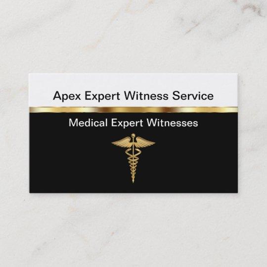 Cartes De Visite Temoin Medecin Expert