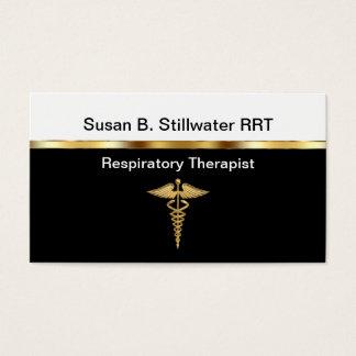 Cartes de visite de thérapeute respiratoire
