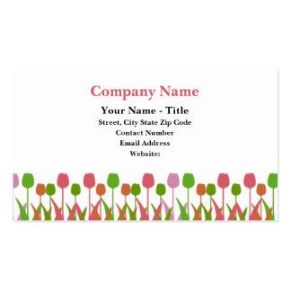 Cartes de visite de Tulipline Carte De Visite Standard