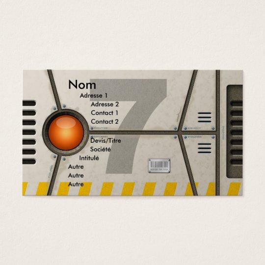 Cartes De Visite Décor sci-fi