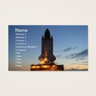 Cartes De Visite Découverte de navette spatiale