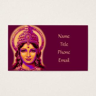 Cartes De Visite Déesse de la fortune - Lakshmi