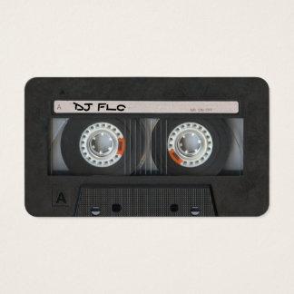 Cartes de visite d'enregistreur à cassettes pour
