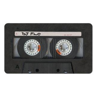 Cartes de visite d'enregistreur à cassettes pour l modèle de carte de visite