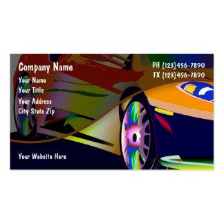 Cartes de visite des véhicules à moteur cartes de visite professionnelles