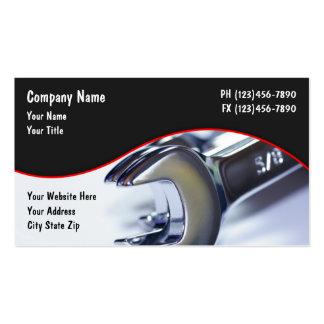 Cartes de visite des véhicules à moteur carte de visite