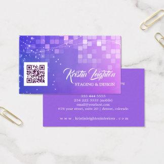 Cartes De Visite Design d'intérieur à la maison ultra-violet