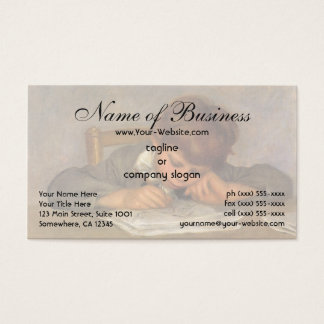 Cartes De Visite Dessin de Jean par Pierre Auguste Renoir
