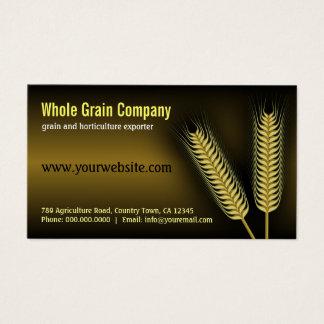 Cartes de visite d'horticulture d'agriculture de