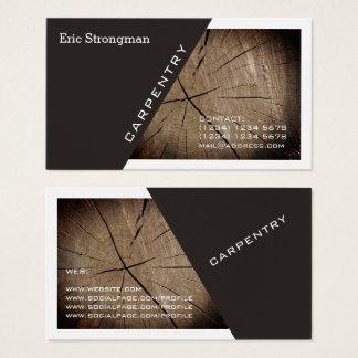 Cartes De Visite Diagonale et cadre modernes de couverture de
