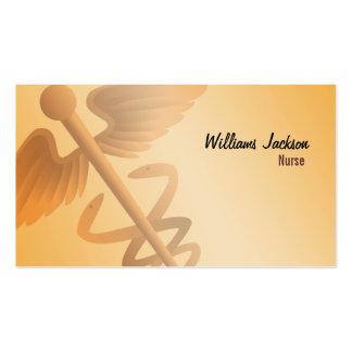 Cartes de visite d'infirmière cartes de visite personnelles