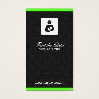 Cartes De Visite Discrimination raciale de damassé de consultant en