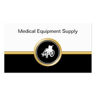 Cartes de visite d'offre de matériel médical cartes de visite personnelles