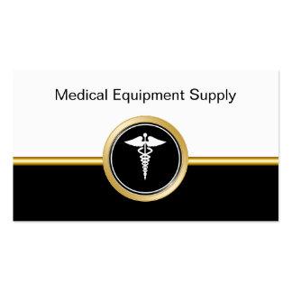 Cartes de visite d'offre de matériel médical carte de visite standard