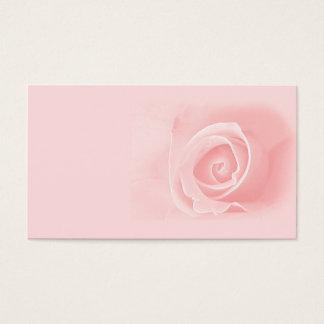 Cartes De Visite Doucement rose de rose