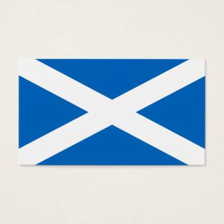 Cartes De Visite Drapeau de l'Ecosse - souvenir écossais de drapeau