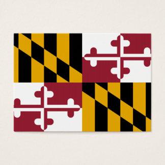 Cartes De Visite Drapeau d'état du Maryland