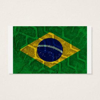 Cartes De Visite Drapeau du Brésil