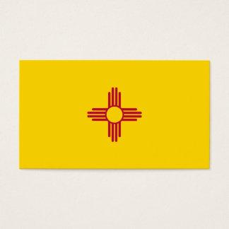 Cartes De Visite Drapeau du Nouveau Mexique