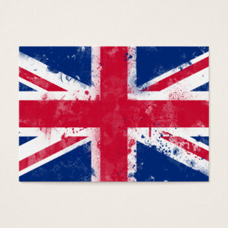 Cartes De Visite Drapeau du Royaume-Uni ou d'Union Jack