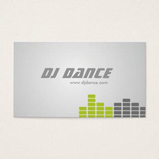 Cartes de visite du DJ Cartes De Visite