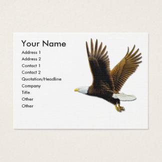 Cartes de visite, Eagle chauve américain
