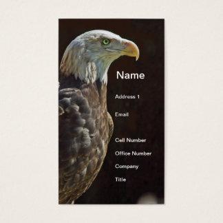 Cartes De Visite Eagle chauve américain