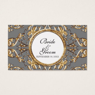 Cartes De Visite Élégance 2 de cravate noire - étiquettes de cadeau