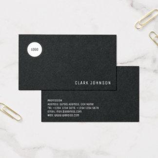 Cartes De Visite Élégance minimale moderne avec l'espace de logo