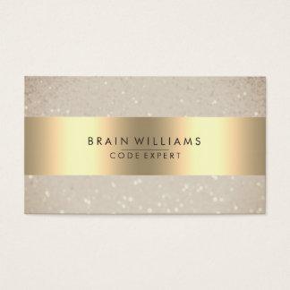 Cartes De Visite Élégant minimal professionnel de Web d'aluminium