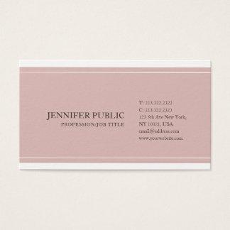 Cartes De Visite Élégant moderne professionnel simple sophistiqué