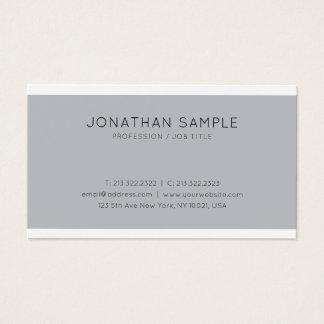 Cartes De Visite Élégants professionnels lissent à la mode simple