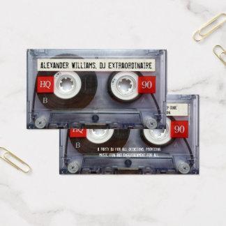 Cartes De Visite Enregistreur à cassettes Extraordinaire du DJ