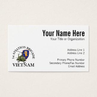 Cartes De Visite ęr Vétérinaire Huey du Vietnam de Bde d'Avn