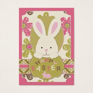 Cartes De Visite Étiquette de cadeau de chasse à Pâques