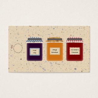 Cartes De Visite Étiquette de /Gift d'étiquette de coup de pots de