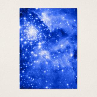 Cartes De Visite Étoiles bleues d'outre-mer