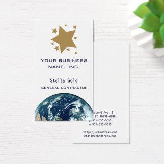 Cartes De Visite Étoiles d'or