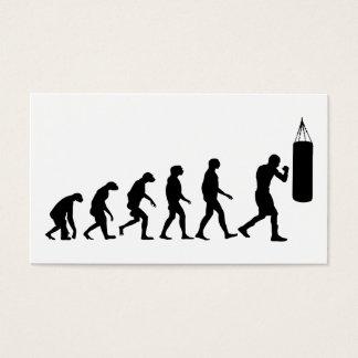 Cartes De Visite Évolution de la boxe