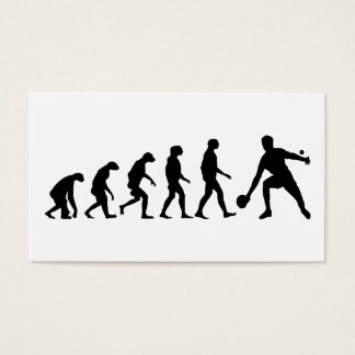 Cartes De Visite Évolution de ping-pong